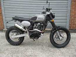 bullit motorcycles hero 125 retro scrambler brand new in