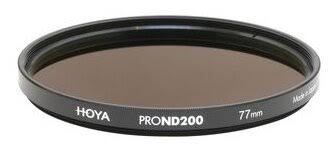 Нейтрально-серый (ND) <b>светофильтр HOYA PRO ND200</b> - 77 мм ...