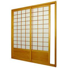 Japanese Sliding Door Design Furniture Japanese Yellow Wooden Sliding Door With White