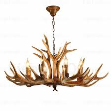 8 light country rustic nordic modern contemporary chandeliers for living room