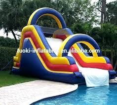 inflatable above ground pool slide. Pool Slide Used Above Ground Swimming Slides For Pools Inflatable Wholesale B