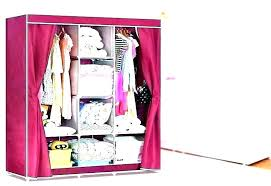 folding wardrobe clothes underwear storage rack hooks home closet plastic shelves hanging with drawers bins