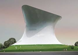 Mexico City Futuristic Building, Soumaya Art Museum - Architecture