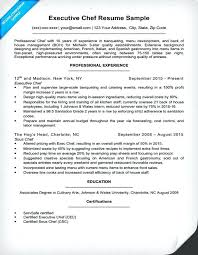 Culinary Resume Interesting Resignation Letter Format For Chef Best Of Executive Chef Resume