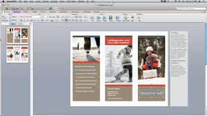 How To Make Your Own Brochure On Microsoft Word How To Make Powerpoint Brochure