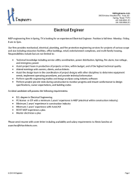 Mep Engineer Resume Perfect Resume