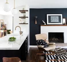 8 Accent Colors for a Microapartment with Black and White Rooms