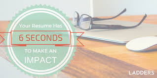 You have 6 seconds to make an impression: How recruiters see your resume |  Ladders | Business News & Career Advice