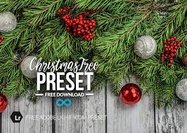 Free Christmas Tree Decorations Lightroom Preset By Photonify
