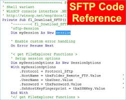 Access Referenz Zu Sftp Code Objekten Codedocu Office 365