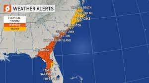 Tropical Storm Elsa Strikes Florida ...