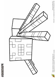 Minecraft Herobrine Kleurplaat Minecraft Einhorn Ausmalen