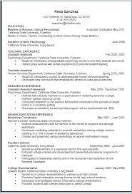 Resume For Graduate School Application Resume Writing Service