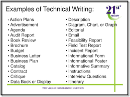 Ppt Technical Writing Real World Writing In The 21 St