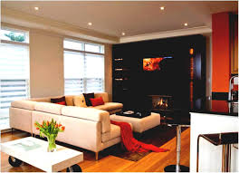 contemporary living room with corner fireplace. Amazing Living Room Design With Corner Fireplace And Modern Tv Set Nurani L Contemporary