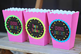 Party Decorations In A Box NEON BIRTHDAY Glow Party 100's Birthday Neon Party Decorations 2