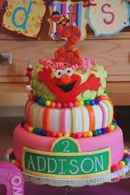 Pink Elmo Cake Amazingbirthdaycakesga