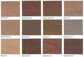 Bona Fast Dry Stain Color Chart Stain Colors Rhodes Hardwood Flooring