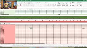 Cash Flow Model Excel Free Cash Flow Forecast Tool In Excel