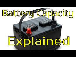 Amp Hours Battery Capacity Explained