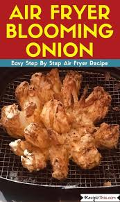 recipe this air fryer blooming onion