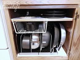 Diy Kitchen Cabinet Plans Interesting DIY KnockOff Organization For Pots Pans How To Organize Your