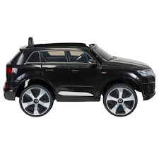 black audi. black audi q7 6v ride on