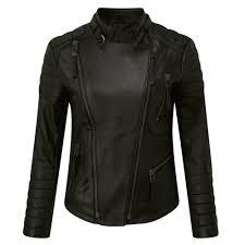 womens biker jacket leather