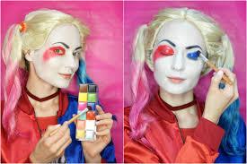 harley quinn squad makeup tutorial