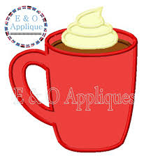 hot chocolate mug clipart. hot chocolate mug clipart