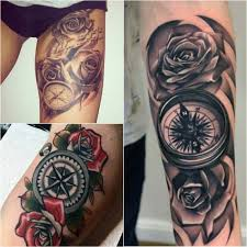 Compass Tattoo Designs Popular Ideas For Compass Tattoos With Meaning
