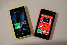 nokia lumia 920 red. the nokia lumia 920 and 820 side by side. red