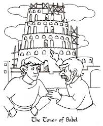 Ideas Collection Tower Of Babel Coloring Pages About Job Summary ...