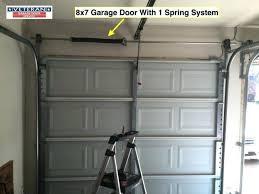 Garage Door Extension Spring Chart Extension Spring Vs Torsion Spring Medium Size Of Garage