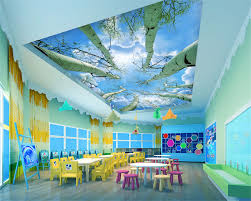 beibehang Kids room wallpaper custom 3d ...