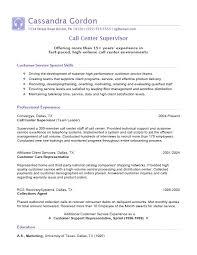 Call Center Customer Service Supervisor Job Description