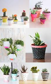 6 DIY PAINTED POT IDEAS