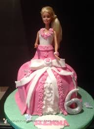 700 Coolest Homemade Doll And Barbie Cake Designs