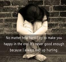 you always hurt me