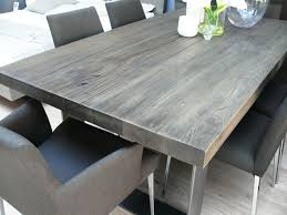 new arrival modena wood dining table in grey wash misty wooden tables characters and grey wash
