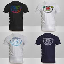 Streetwear Shirt Designs Colorful Bold Retail T Shirt Design For Rueflis