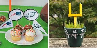 Cheap Super Bowl Decorations 60 Fun Super Bowl Crafts Super Bowl Themed DIY Ideas 53