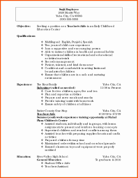Resume Education Section Complete Educational Resumes Examples