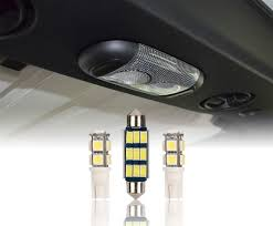 2007 Ford Fusion Dome Light Wont Turn Off U Box 3pcs Bright White Interior Led Dome Light Bulbs Front Rear Upper Reading Lights Jeep Wrangler Jk 2007 2018