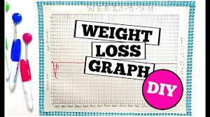 Weight Loss Graph Diy
