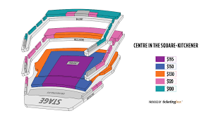 Kitchener Centre In The Square Seating Chart