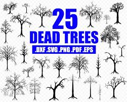 Download transparent dead tree png for free on pngkey.com. Dead Tree Svg Halloween Svg Tree Svg Spooky Tree Svg Halloween Tre Clipartic
