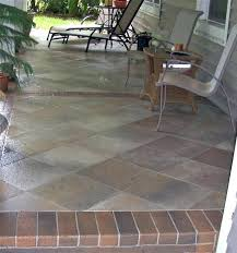 simple patio tiling over painted concrete outdoor tile patio tiles to patio tiles over concrete