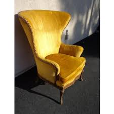 Furniture Incredibly Awesome Vintage High Wing Foter Vintage High Back Chair Ideas On Foter