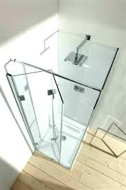 accordion glass shower door doors fancy worthy fold in folding away